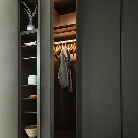 modern poliform closet