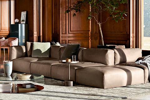 mex cube sofa by cassina studio como modern furniture denver