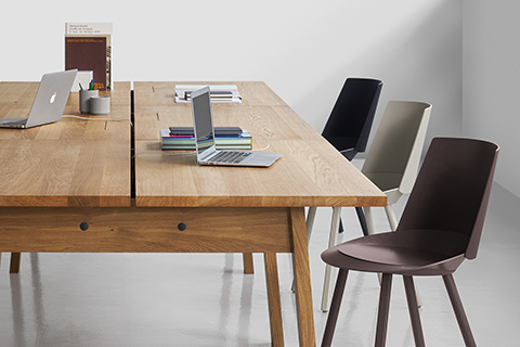 office conference room featuring e15 table and chairs