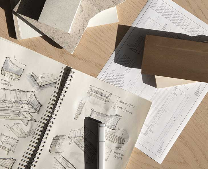 designer jonas wagell's process drawings