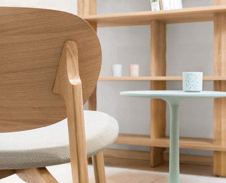 zeitraum zenso lounge chair detail