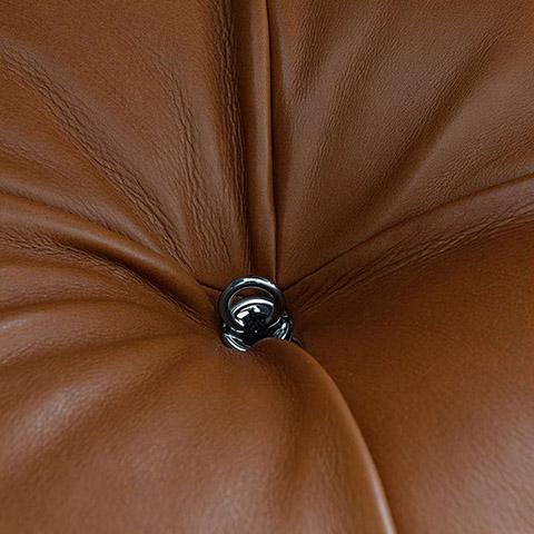 detail of a b&b italia camaleonda sofa