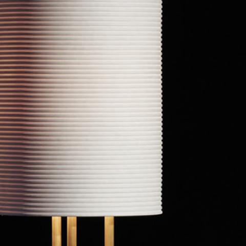 close up of an apparatus lantern floor lamp shade