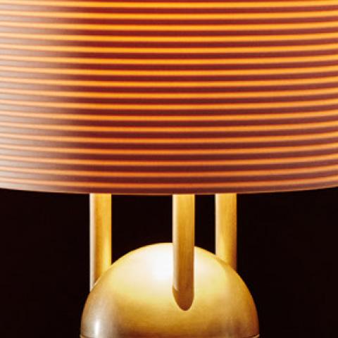 close up of an apparatus lantern table lamp