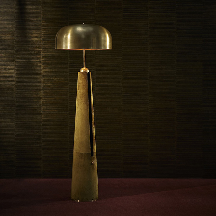 apparatus metronome floor lamp