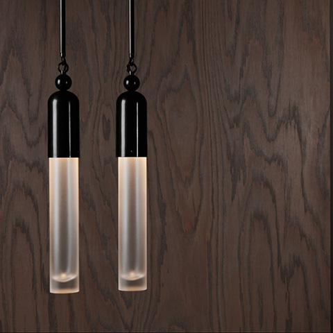 apparatus tassel pendant lights in situ
