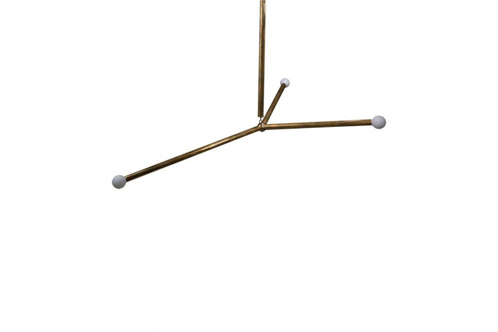 apparatus arrow pendant on white background