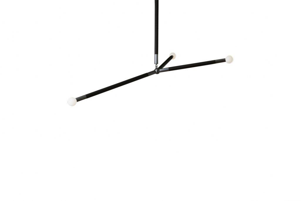 apparatus arrow pendant with leather wrap on white background