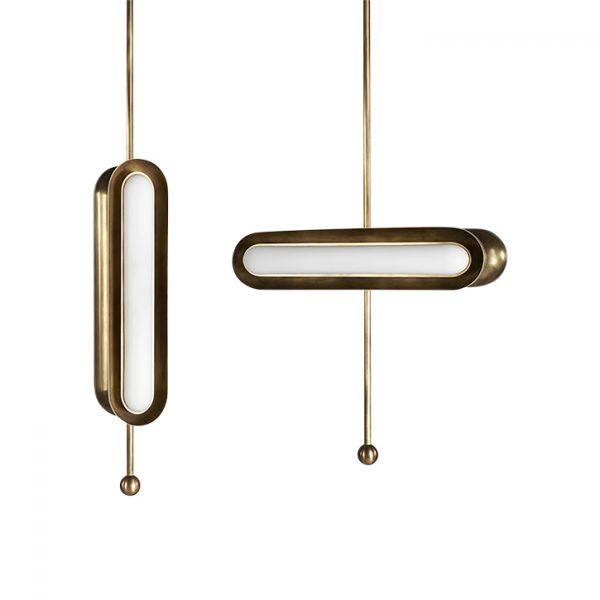 apparatus circuit 2 pendant light horizontal and circuit 2 pendant vertical on white background