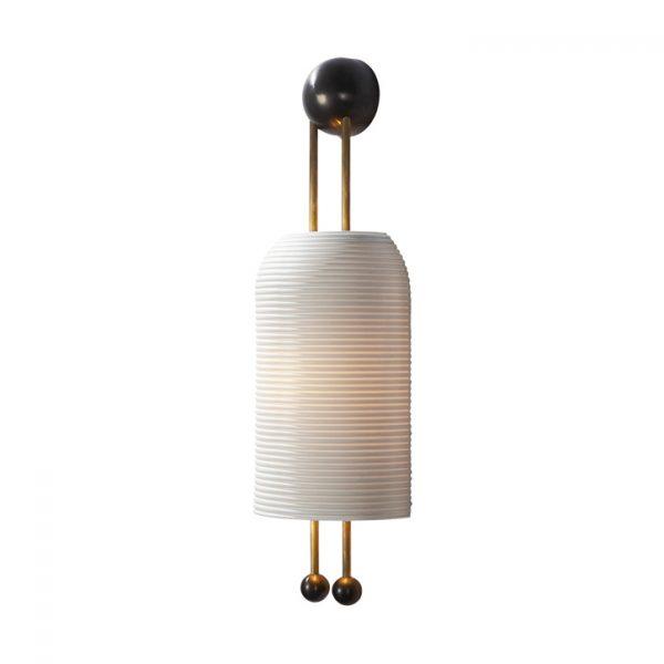 apparatus lantern sconce on a white background