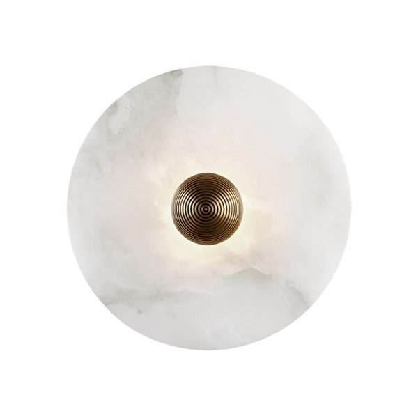 apparatus median sconce on a white background