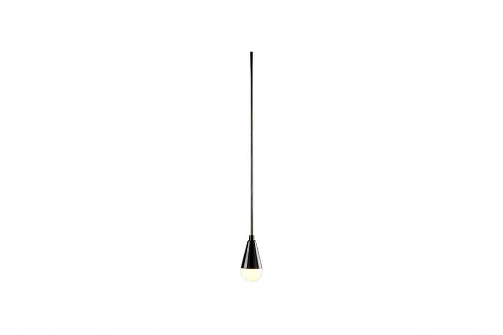 apparatus triad 1 pendant light on a white background