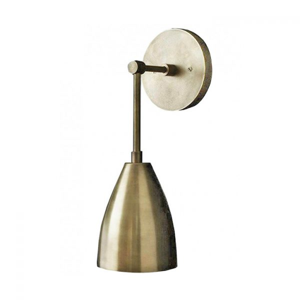 apparatus twig sconce on a white background