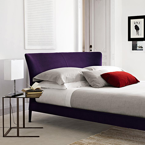 historic interior space featuring b&b italia febo bed