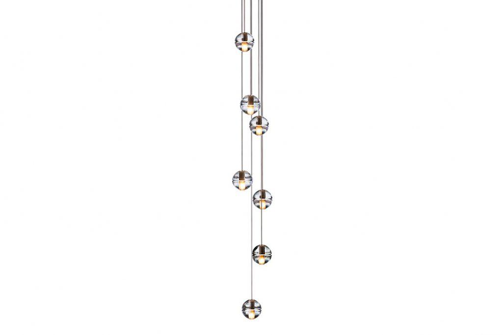 bocci 14.7 pendant light on a white background