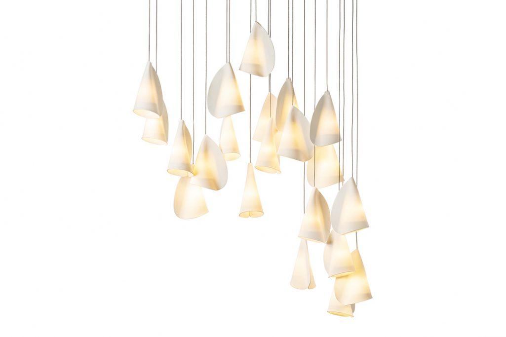 bocci 21.21 pendant light on white background