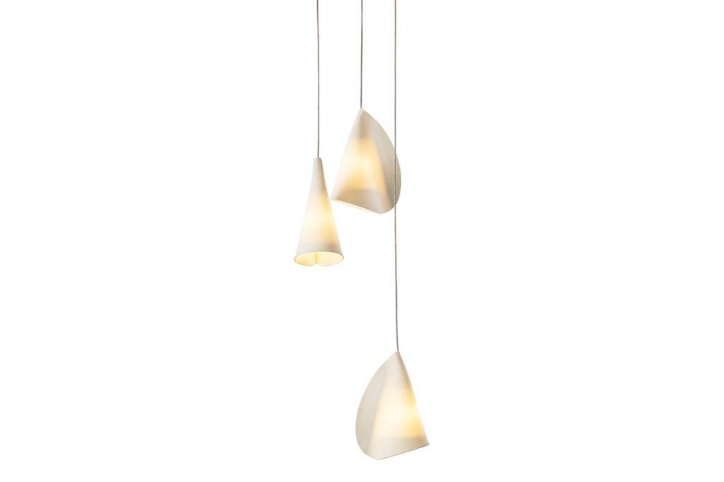 bocci 21.3 pendant light on white background