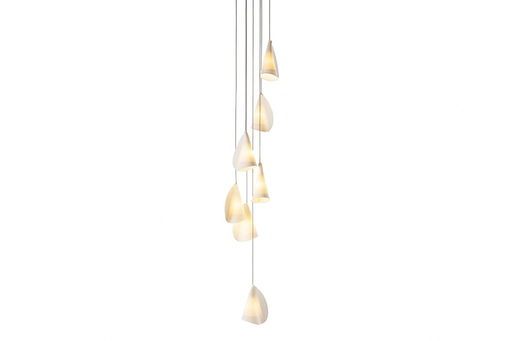 bocci 21.7 pendant light on white background