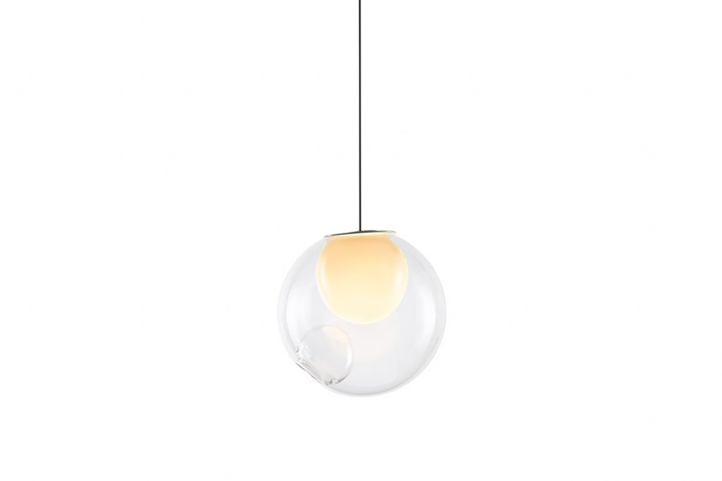 bocci 28.1 pendant light on a white background
