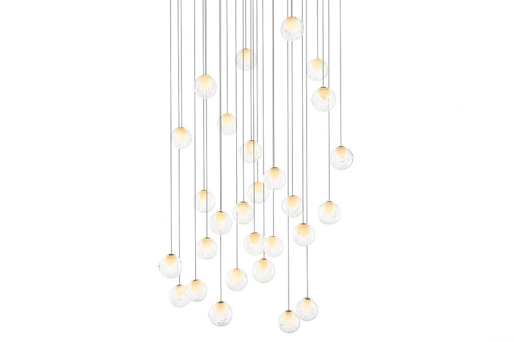 bocci 28.28 pendant light on a white background