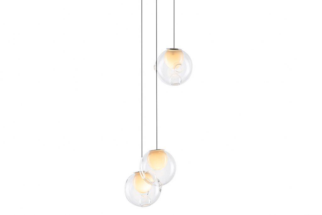 bocci 28.3 pendant light on a white background