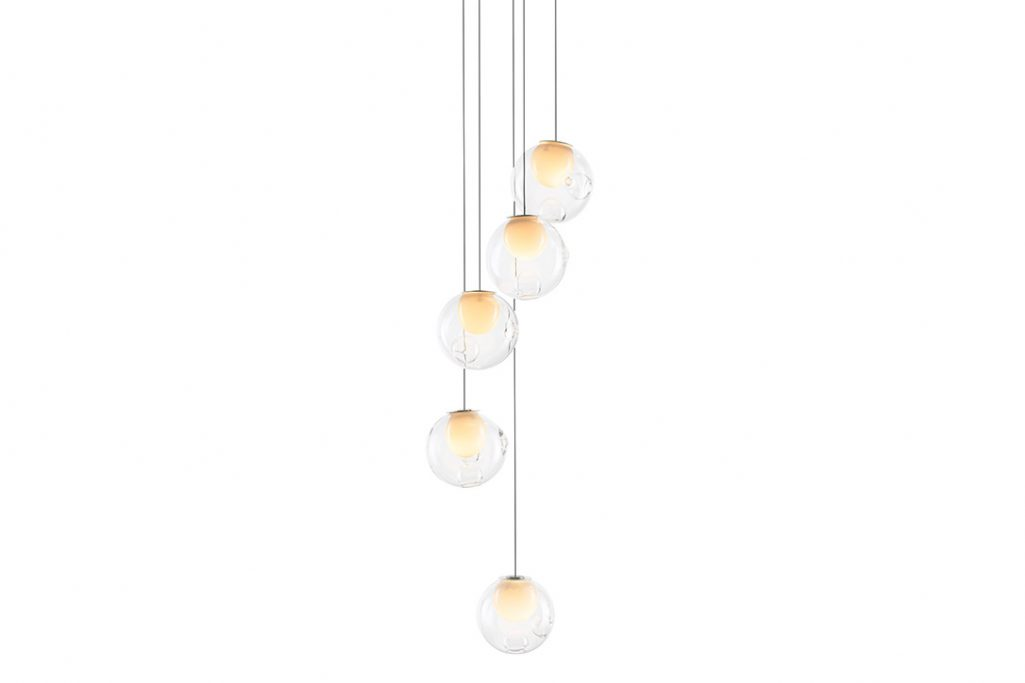 bocci 28.5 pendant light on a white background