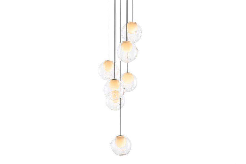 bocci 28.7 pendant light on a white background