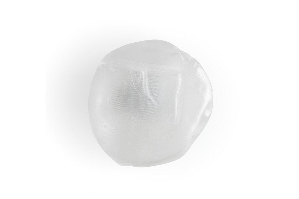 bocci 73s surface wall light bulb off on white background