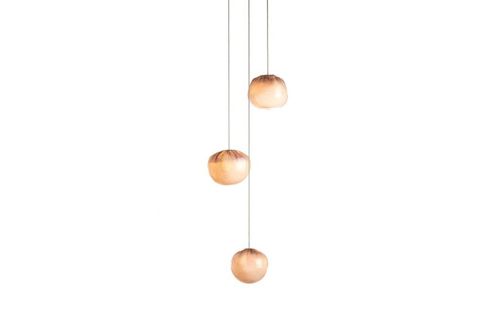 bocci 84.3 pendant light on white background