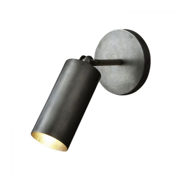apparatus cylinder sconce on a white background