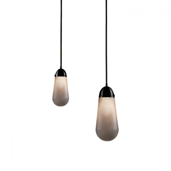apparatus lariat pendant lights on a white background