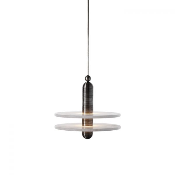 apparatus median 1 pendant light on a white background