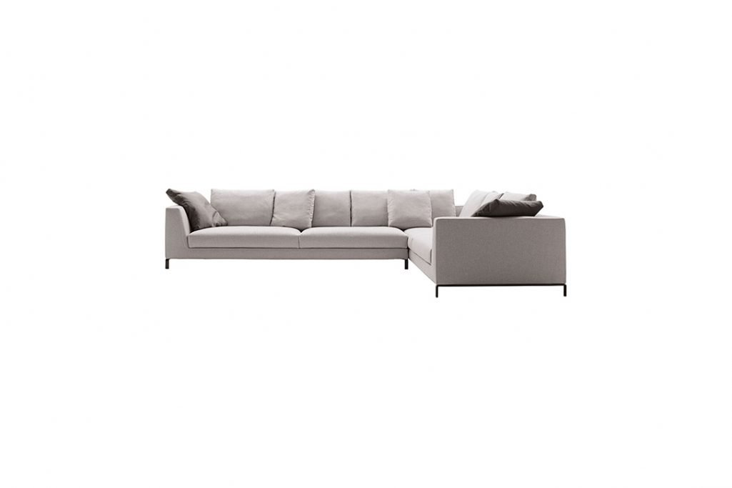 b&b italia ray sectional on a white background