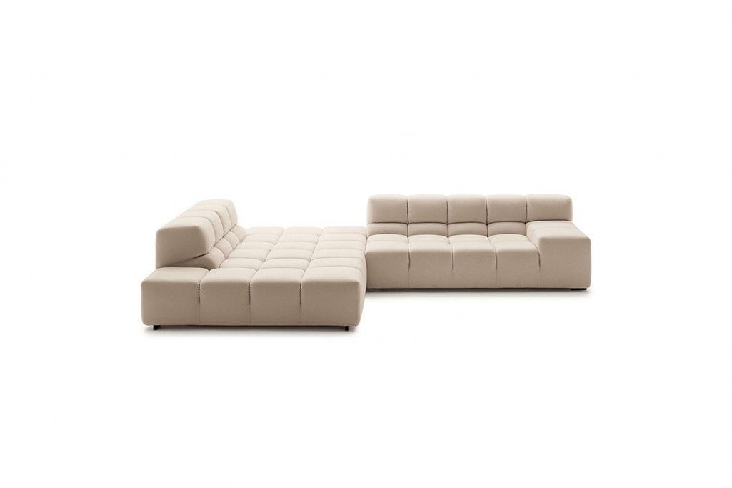 b&b italia tufty time sofa on a white background