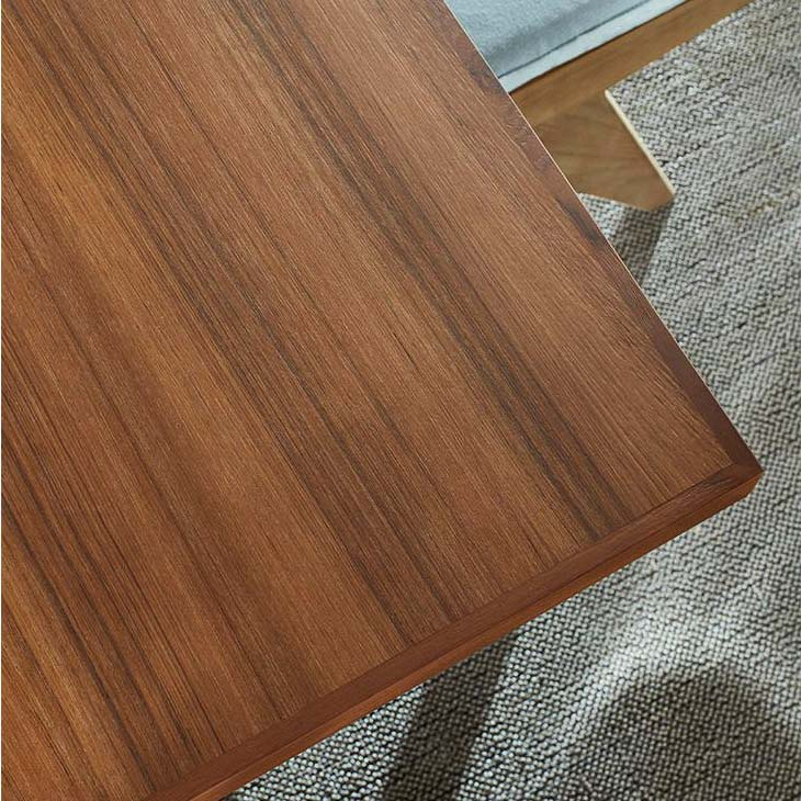 table top on a cassina capitol complex dining table