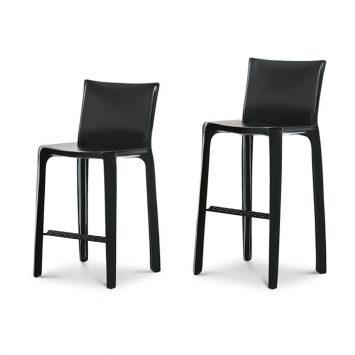 cassina cab counter stool and cab bar stool