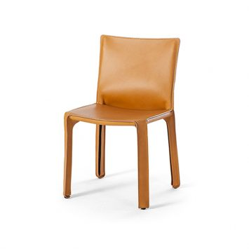 cassina cab dining chair on a white background