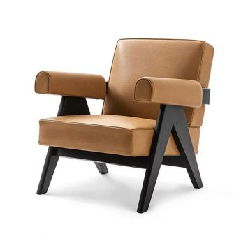 cassina capitol complex armchair chair on a white background