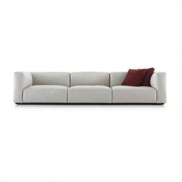 cassina mex cube sofa on a white background
