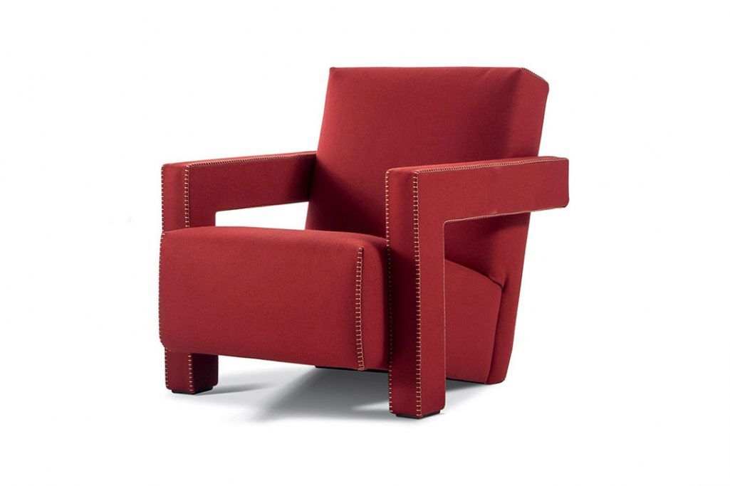 cassina utrecht xl armchair on a white background
