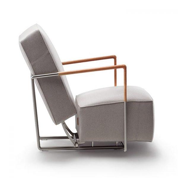 flexform abc armchair on a white background