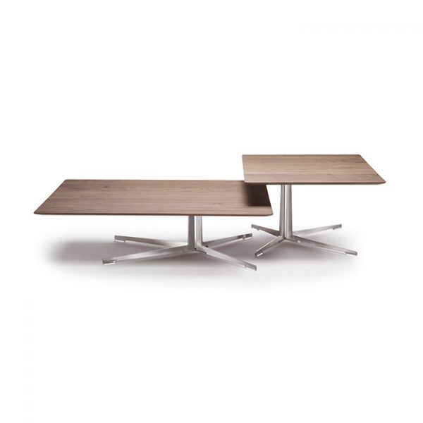 flexform fly coffee table and fly side table