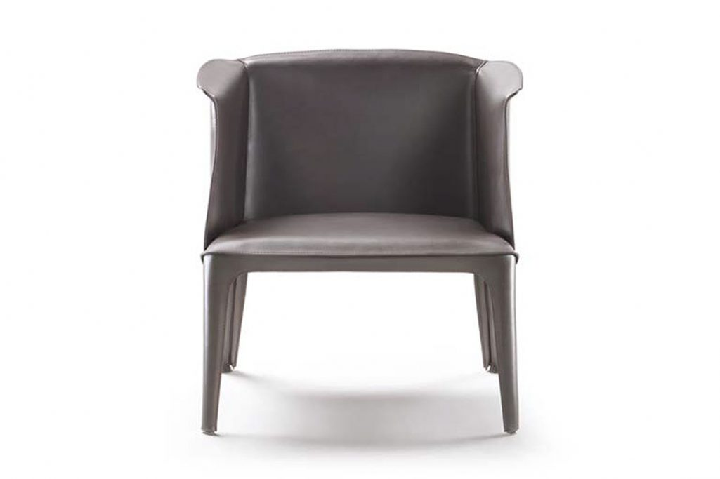 flexform isabel armchair small on a white background