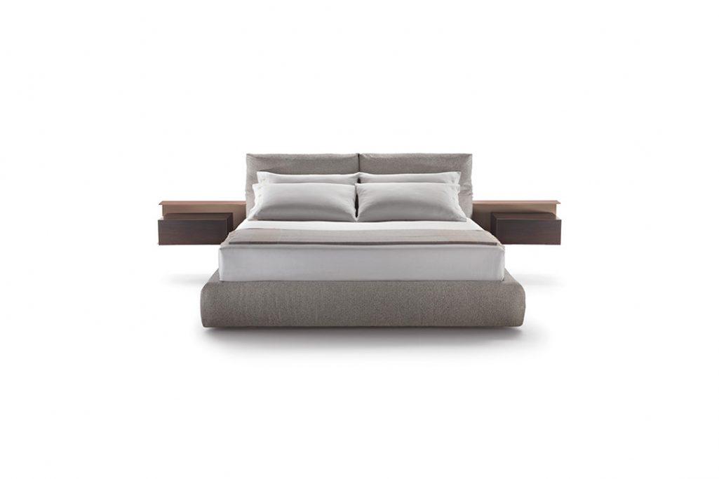 flexform newbridge bed on a white background