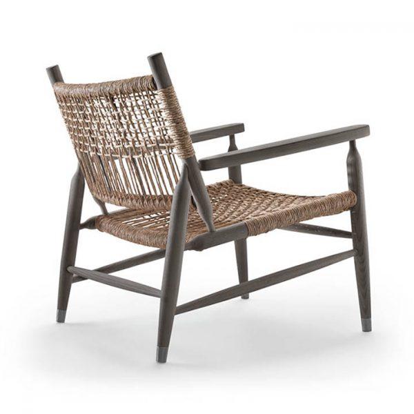 flexform tessa armchair on a white background