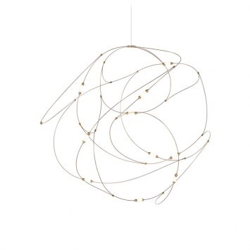moooi flock of light pendant 11 on a white background