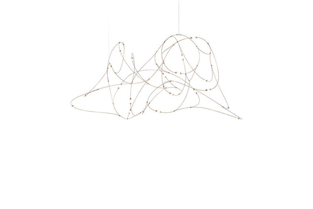 moooi flock of light pendant 21 on a white background