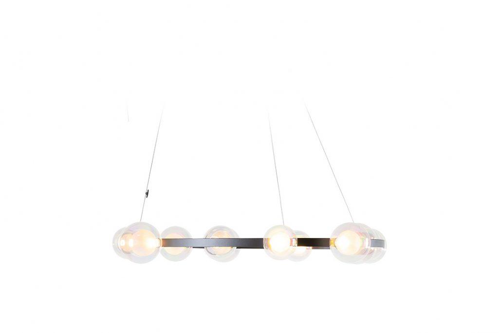 moooi hubble bubble pendant light on a white background