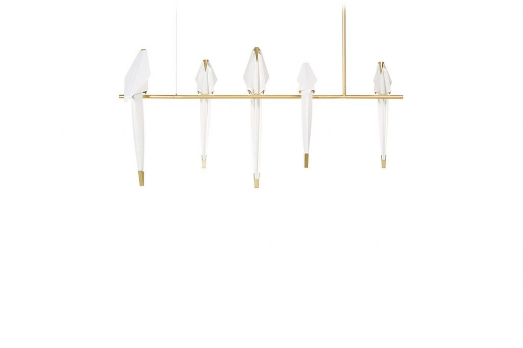 moooi perch light branch pendant large on a white background