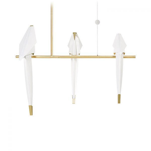 moooi perch light branch pendant small on a white background